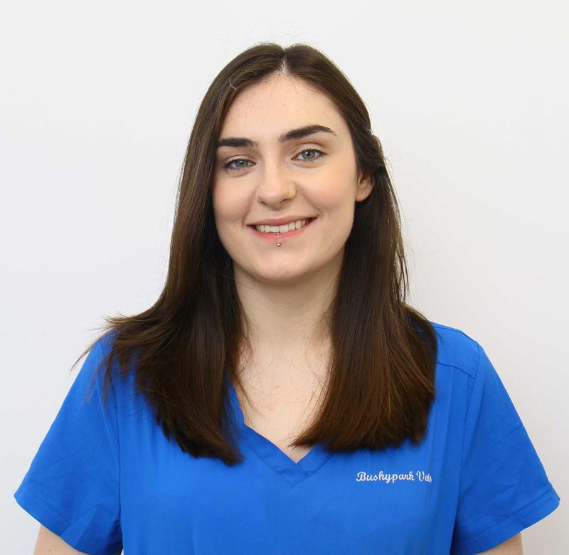 Hannah Ruane qualified as a Veterinary Nurse in 2015.